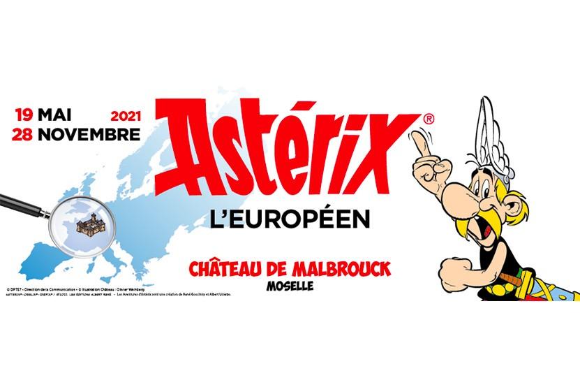 """""""Astérix l'Européen"""" : découvrez l'exposition exceptionnelle du Château de Malbrouck"""