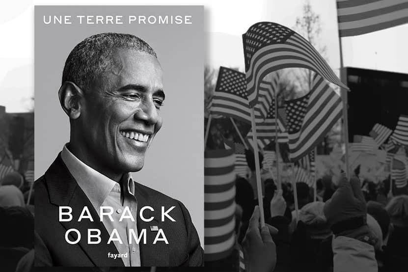 """""""Une terre promise"""" : Barack Obama publie ses mémoires présidentiels aux éditions Fayard"""