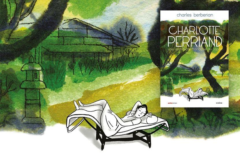 Charlotte Perriand : l'architecte française vue par Charles Berberian