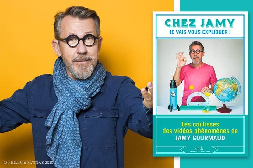 """""""Chez Jamy"""" : les vidéos de Jamy Gourmaud deviennent un livre aux éditions Stock"""