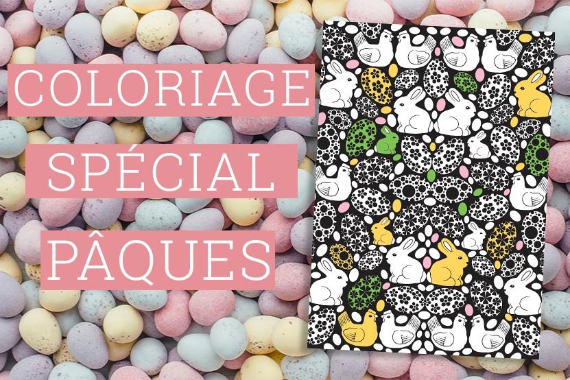 Activité : téléchargez notre coloriage spécial Pâques !