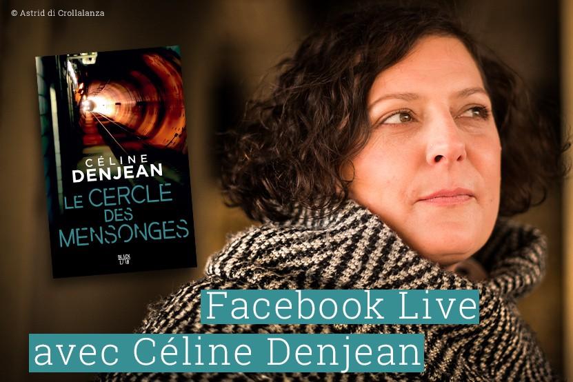 Événement : Céline Denjean sera en Facebook Live jeudi 10 juin à 18h30