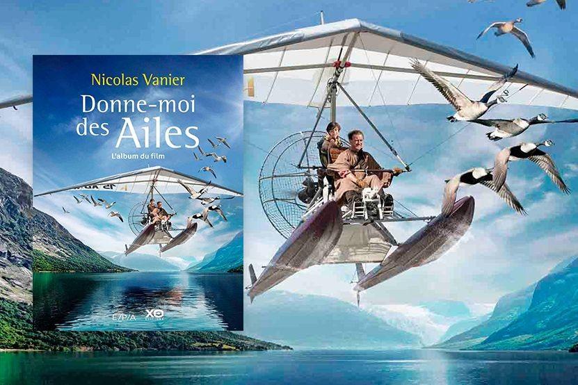 """""""Donne-moi des ailes"""" de Nicolas Vanier : l'album et le roman jeunesse du film disponibles en librairie"""
