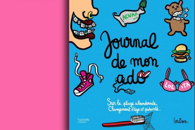 """""""Journal de mon ado"""": l'album moqueur rêvé des parents ! (extraits)"""
