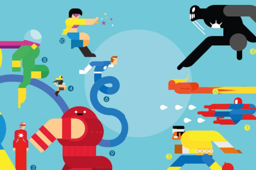 Marvel Graphics : tout Marvel en infographies !