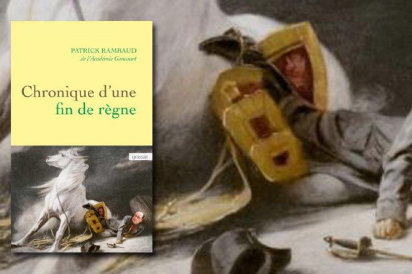 """Chronique d'un fin de règne"" : Patrick Rambaud croque la fin du quinquennat de François Hollande"