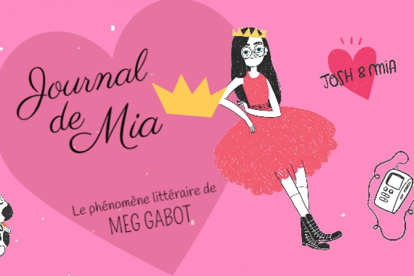 Journal de Mia : le phénomène littéraire de Meg Cabot en infographie