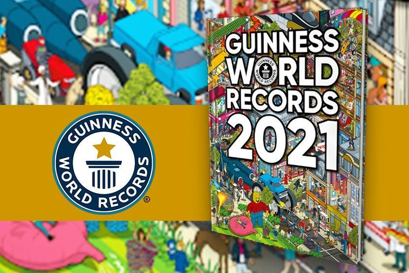 Guinness World Records 2021 : découvrez la couverture de la nouvelle édition !