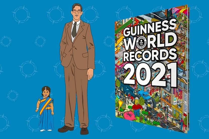 Guinness World Records 2021 : ce qui vous attend dans le livre des records