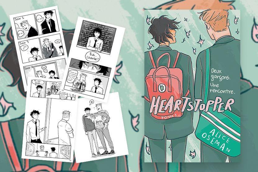 Heartstopper : le roman graphique queer événement publié aux éditions Hachette Romans