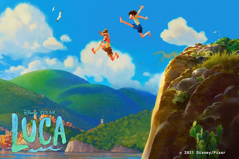 « LUCA » le nouveau film Disney Pixar sur Disney+ et en librairie !