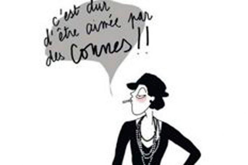 Lulu d'Ardis : quand un dessin de Coco Chanel rend hommage à Charlie Hebdo