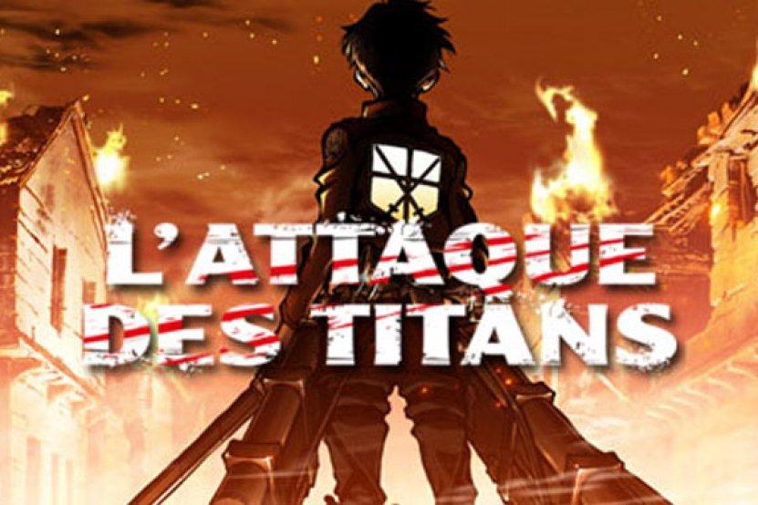 """""""L'Attaque des Titans"""" disponible dès la sortie japonaise"""