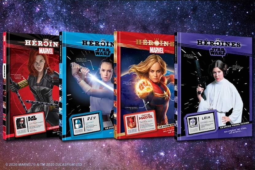 Tout savoir sur les héroïnes Star Wars et Marvel avec les éditions Hachette Jeunesse Disney