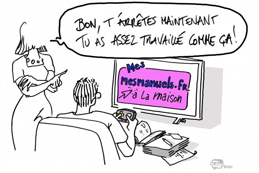 Mesmanuels.fr: retour sur 3 semaines de continuité pédagogique dans le groupe Hachette