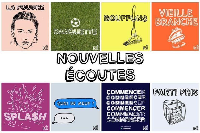 """""""Nouvelles Ecoutes"""" : les podcasts deviendront bientôt des livres avec Marabout"""