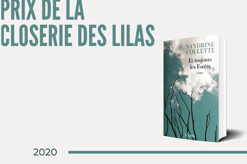 Sandrine Collette reçoit le prix de la Closerie des Lilas 2020