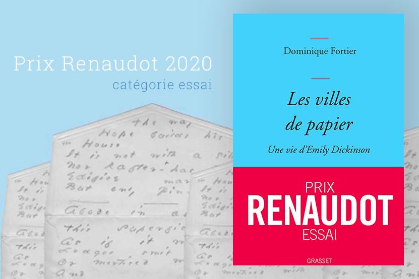 Prix Renaudot 2020 : Dominique Fortier récompensée dans la catégorie essai