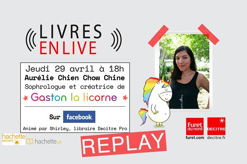 Replay : retrouvez le live d'Aurélie Chien Chow Chine