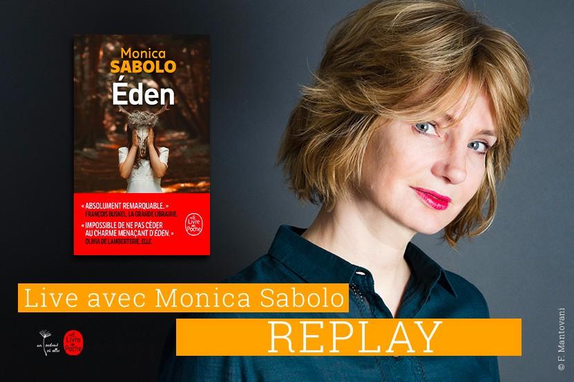 Replay : revoyez le Facebook Live de Monica Sabolo