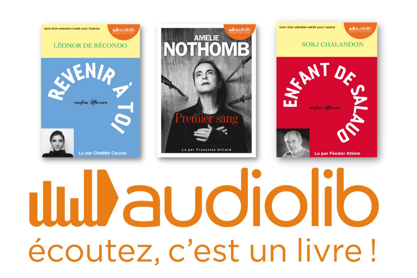 La rentrée littéraire 2021 des éditions Audiolib
