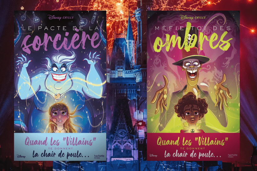 Disney Chills : la série livres des méchants de Disney
