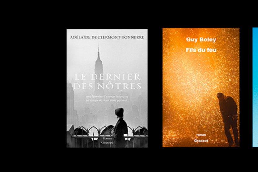 Grand Prix du roman de l'Académie française : la première sélection