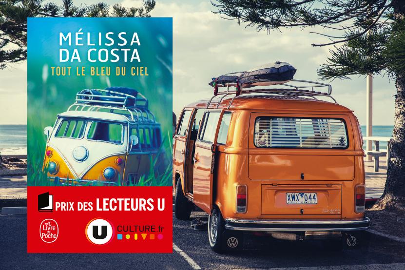 """Prix des Lecteurs U 2020 : Mélissa Da Costa récompensée pour son premier roman, """"Tout le bleu du ciel"""""""
