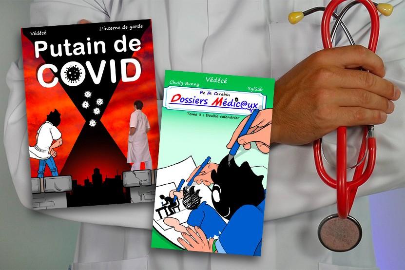 Védécé : étudiant en médecine le jour, auteur de BD la nuit