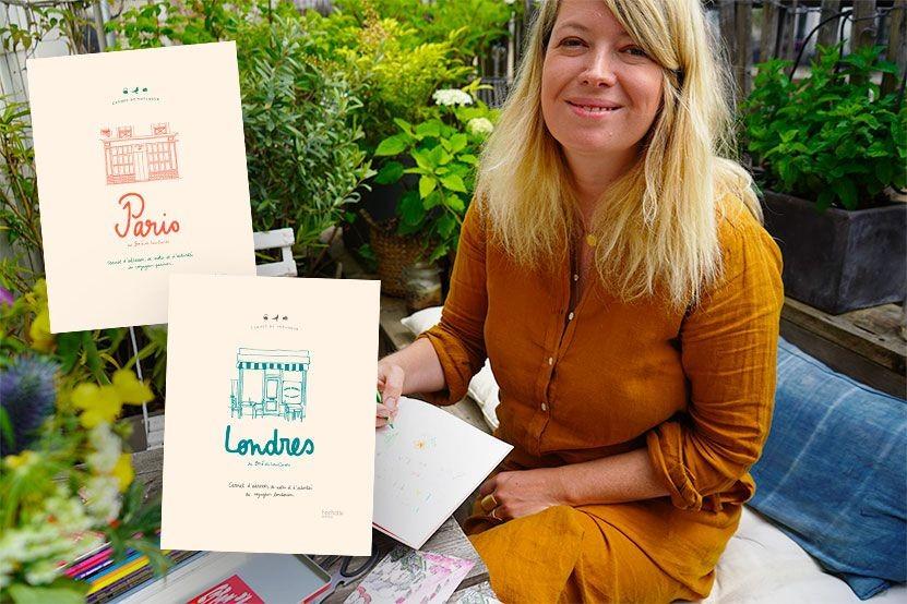 Zoé de Las Cases nous accueille chez elle pour le lancement de ses carnets du voyageur