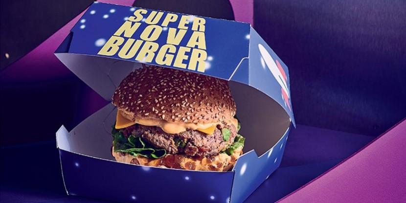 Le Super Nova Burger du Pizza Planet par Thibaud Villanova