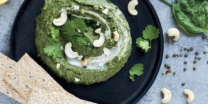 Green houmous aux lentilles vertes du Puy : une recette 100% verte