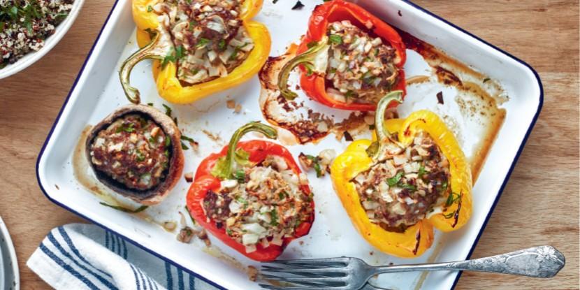 Légumes farcis : la recette légère et gourmande de Jesta Hillmann