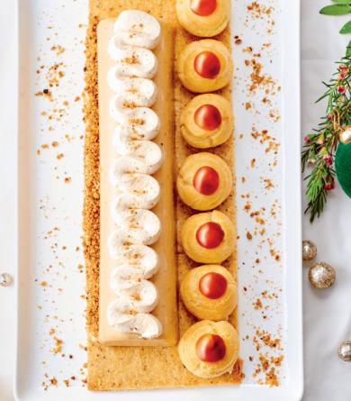 Noël 2020 : notre recette de bûche façon Paris-Brest