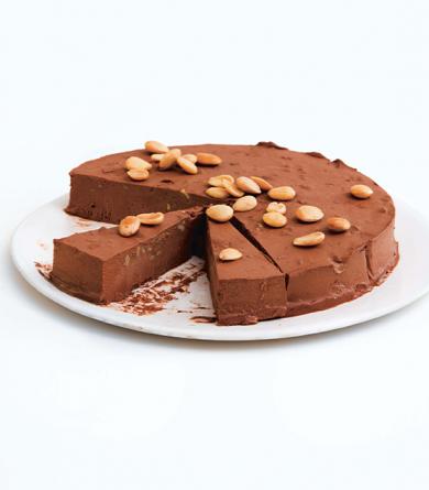 Gâteau truffé au chocolat du livre « Prêt à cuisiner - Pâtisserie Facile »