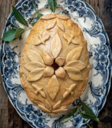 """La Yorkshire Christmas pie : une recette inspirée de la série """"Downton Abbey"""""""